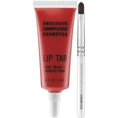 Obsessive Compulsive Cosmetics Lip Tar - Matte (355 MXN) ❤ liked on Polyvore featuring beauty products, makeup, lip makeup, lip tar, obsessive compulsive cosmetics, paraben free cosmetics and paraben free makeup