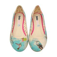 DOGO Ballerina - Fly away #dogogermany #dogoshoes #printedshoes #print #fashioninspiration #spring2015 #summer2015