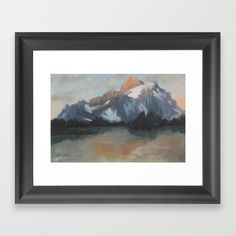 A truly picturesque scene inspired by the great north American and Canadian mountain ranges catching the sun on its majestic summit with beauty and vigor. Available in Museum quality print. Contemporary Artists, Online Art, Oil On Canvas, Original Art, Mountain, Scene, Museum, Ranges, Gallery