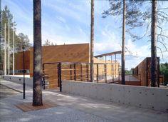 Finnish Forest Museum and Information Centre Lusto, Punkaharju, Finland - LAHDELMA & MAHLAMÄKI ARCHITECTS