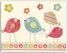 Baby girl Room Decor Nursery Art baby owl by DesignByMaya on Etsy, $17.00