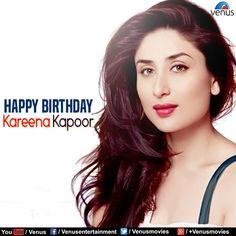 Wishing The Gorgeous +Kareena Kapoor a Very Happy Birthday !!  Enjoy Kareena Kapoor ~ Bollywood Romantic Songs:http://bit.ly/2brGGWf  #Hulchul #Yuva #Talaash #HappyBirthdayBebo #KareenaKapoor #Venus