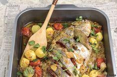 Hoje revisitamos a receita de Pargo de cebolada assado no forno. ;) São servidos?