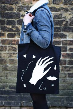 Body Parts tote bag  http://www.zoeaustin.co.uk