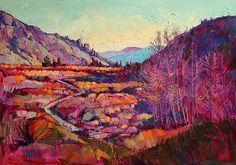 Erin Hanson, Sierra Shadow, Oil