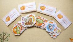 Handmade sticker packs :)