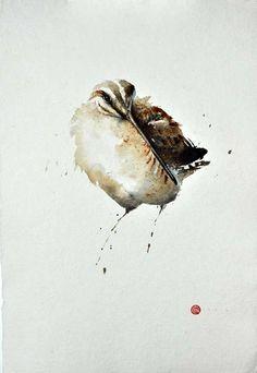 karl mårtens - Google Search Birds Painting, Animal Art, Animal Drawings, Watercolor Artists, Feather Painting, Animal Paintings, Watercolor Bird, Bird Prints, Detailed Paintings