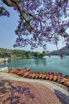 Bhimtal lake, Bhimtal - Bhimtal, Uttarakhand, India