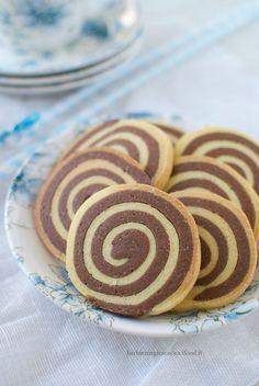 biscotti bicolore vaniglia e cacao