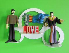 Flaunt shelf display meets The Beatles.
