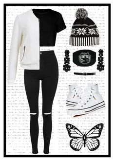 """""""Lisa"""" by antonina71 on Polyvore featuring Topshop, Object Collectors Item, WithChic, Simone Rocha, Lauren Ralph Lauren and Converse"""
