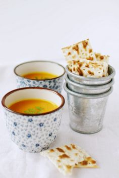 Pumpkin soup with spices