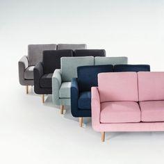 Le canapé 2 places Jimi. Coloris pastels et accueil très moelleux, ce canapé s'associera parfaitement à un salon d'inspiration nordique avec des meubles aux tons clairs pour un intérieur doux et cosy. Dimensions canapé 2 places Jimi :Longueur : 130 cmHauteur : 80 cmProfondeur : 79 cmAssise : L106 x H45,5 x P53,5 cmCaractéristiques canapé 2 places Jimi :Revêtement :Tissu légèrement chiné en 90% polyester, 10% coton.Confort :Coussin d'assise garni de mousse polyuréthane 28kg/m³...