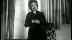La vie en rose (1945) - Edith Piaf (1915-1963) a French singer and cultural icon who became widely regarded as France's national popular singer, as well as being one of France's greatest international stars.