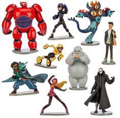 NEW Bandai Big Hero 6 Action Figures Bay Max 1.0 Action Figure Japan F//S