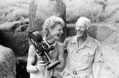 "Thor Heyerdahl ""Digging"" at Easter Island"