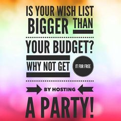 Is your Jamberry wish list bigger than your budget? Why not get it for FREE by hosting a party! Contact me today Jamberry wraps | nail art | manicure | Spring Summer Fall Winter Catalog 2015