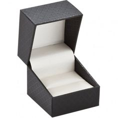 Black Designer Collection Ring/Earring Box...(ST61-0750:100000:T).! Price: $10.99 #ringbox #jewelrybox