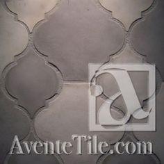 Arabesque Zaragoza Spanish Paver Handmade Cement Tile - mediterranean - floor tiles - Avente Tile