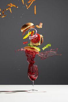 Michael Crichton Photography Captures Flying Food – Trendland Online Magazine Curating the Web since 2006 Michael Crichton, Food Photography Styling, Still Life Photography, Art Photography, Stunning Photography, Food Styling, Splash Fotografia, Food Design, Design Art