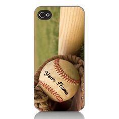 Baseball and Baseball Bat Personalized Name by missaccessories Baseball Bats, Baseball Stuff, Rubbing Alcohol, Iphone Models, Camden, Plastic Case, Softball, Christmas Ideas, Alcoholic Drinks