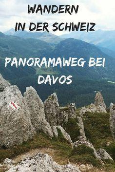 Eine Reise in die Schweiz, perfekt wenn Du wandern, Berge, Täler, Aussichten oder Mountainbike machst. Der Panoramaweg bei Davos ist eine wunderbare Wanderung, die mit jeder Menge Aussichten begeistert.
