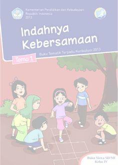 Download Buku Siswa Kurikulum 2013 SD Kelas 4 Tema 1 Indahnya Kebersamaan
