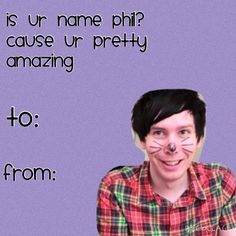 there's nothing more perfect than phan-themed v-day cards Funny Valentine, Valentine Day Cards, Happy Valentines Day, Daniel James Howell, Dan Howell, Phan Is Real, Dan And Phill, Danisnotonfire And Amazingphil, Sam And Colby