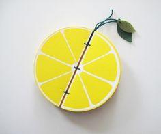 Lemon Shaped Notebook1