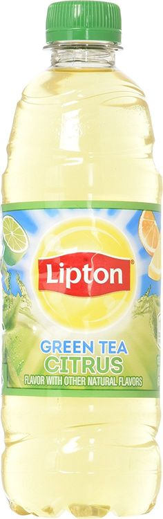 Lipton Green Tea with Citrus fl.) -- Click image for more details. (This is an affiliate link and I receive a commission for the sales) Lipton Green Tea, Iced Tea, Gourmet Recipes, Bottles, Water Bottle, Drinks, Image, Drinking, Water Flask