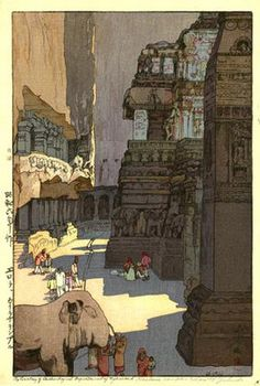 Hiroshi Yoshida was a Japanese painter and woodblock print maker, noted for his absolutely breathtaking landscape prints. Japan Illustration, Hiroshi Yoshida, Toledo Museum Of Art, Art Occidental, Japanese Woodcut, Hokusai, Art Asiatique, Ligne Claire, Art Japonais