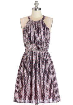 Generation Geo Dress. This is the geometric dress to define an era! #multi #modcloth