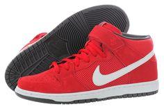 """Nike Dunk Mid Pro SB """"Hyper Red"""" 314383-610 Men - http://www.gogokicks.com/"""