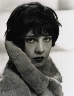 Lovely shot of screenwriter Anita Loos by Clarence Sinclair Bull