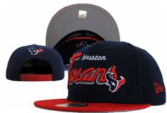 e0063ed4e0c NFL Houston Texans Snapback New Era Hats Navy 037 9360