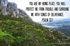 Psalm 32:7, Psalms Photo Gallery