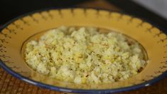 Cauliflower 'Rice' With Cumin and Saffron