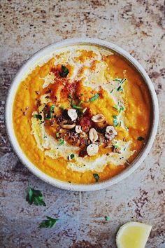 Sweet Potato Detox Soup 3 | Warming Soups for Liver Cleanse | The Awesome Green
