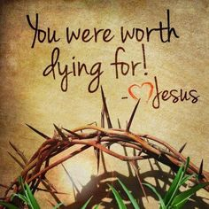 Jesus proved it by taking our sins on Himself on the cross.  He took the punishment that Should have been mine, Should have been yours.