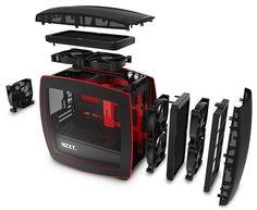 NZXT Manta, ITX case modular concept