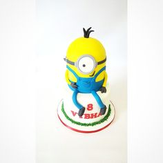 Minion Birthday, Birthday Cake, Tweety, Love Food, Your Favorite, Minions, Spoons, Fictional Characters, Cakes