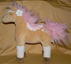 Target Horse Pillow Pink Flower Pony Plush Toy Decor Embroidered Hearts Circo #TargetCirco