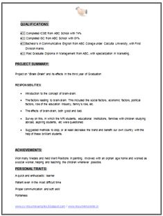 MBA Marketing Resume Sample Doc (2)
