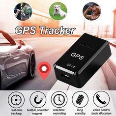 GROOMY GPS Locate Car Charger Tracker Finder Kit Dual USB Battrey Voltage Display 24W