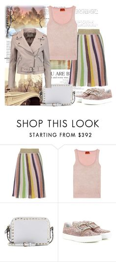"""Thinking of Spring!!!"" by diane-fritz-sager ❤ liked on Polyvore featuring Missoni, Valentino, Roger Vivier and W118 by Walter Baker"