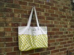 Not My Tree Blog: Tutorial Tuesday: Reusable Shopping Bag