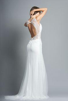 Robe de mariée Palerme - www.fabiennealagama.com #fabiennealagama#collection2018#robedemariee
