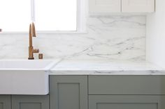These look fine to me, including the color. Wonder if it would allow a splurge on other things, like marble! Source: Ikea Upgrade: The SemiHandmade Kitchen Remodel