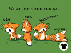 Foxes Say NO for $8 - $11