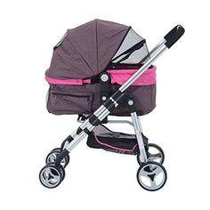 Pawhut Four Wheel Cat/ Dog Pet Stroller - Violet, http://www.amazon.com/dp/B01A1AF53K/ref=cm_sw_r_pi_awdm_TJxSwb12MEAHQ